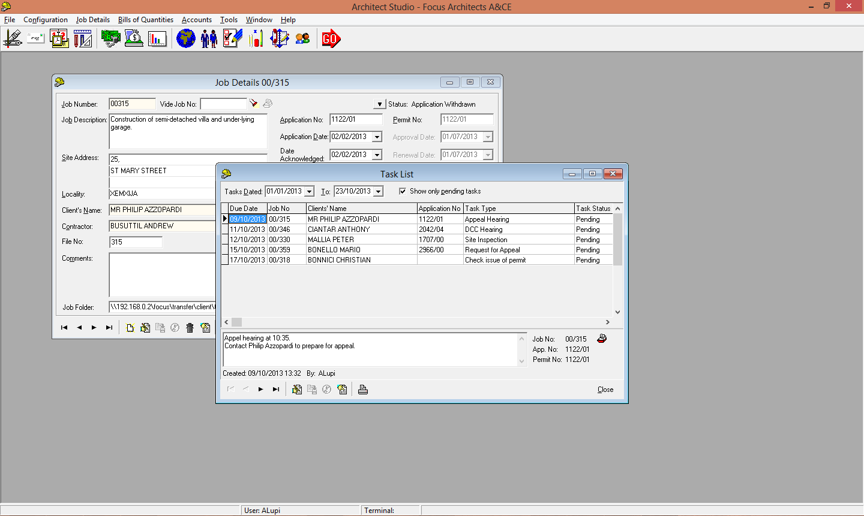 3 job task list focus software solutions focus software solutions