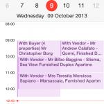 Mobile Calendar sync