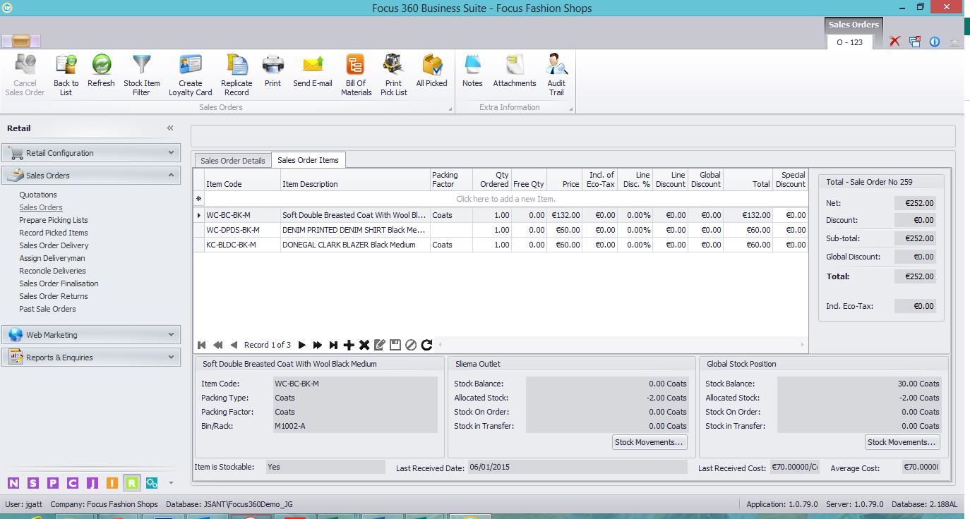 Inventory Management Software Focus 360 Focus Software
