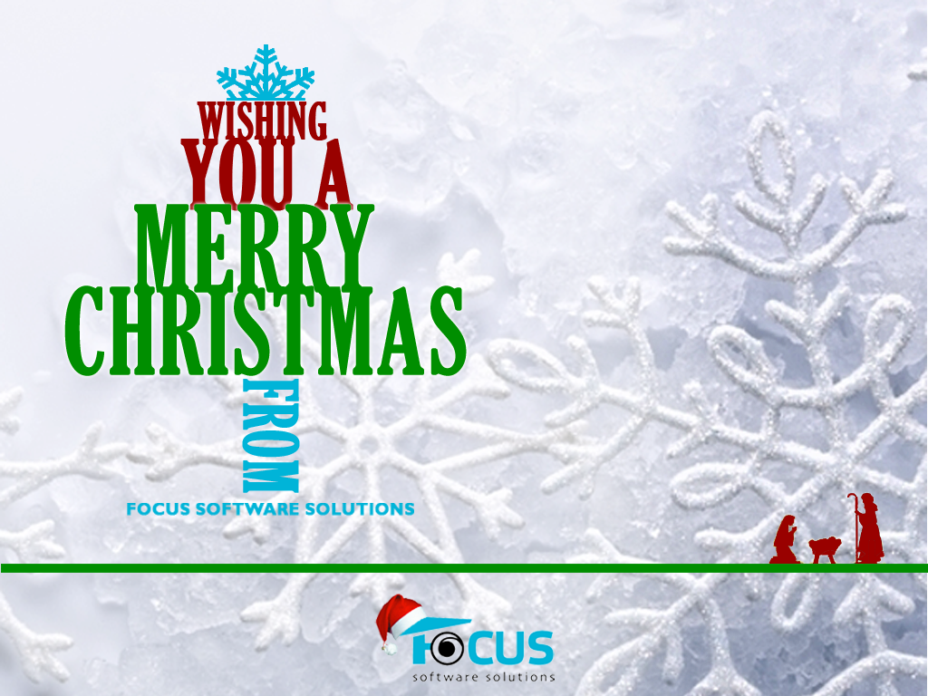 Focus Christmas Card