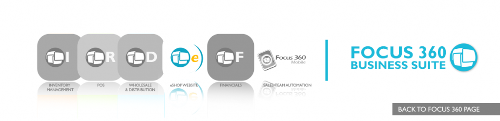 Focus 360 eShop Website with Shopping cart